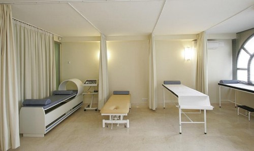 Sala de fisioterápia en San Pedro