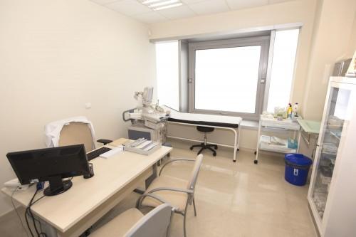 Consulta de urología en Estepona. Vista desde la entrada.