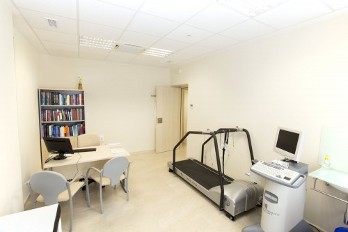 Consulta de cardiología en Estepona. Vista general.