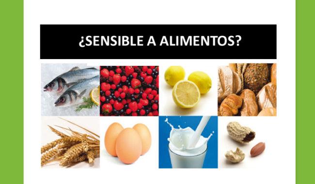 ¿Eres sensible a alimentos que consumes normalmente?