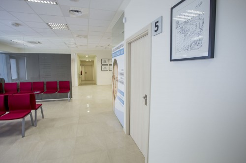Sala de espera principal y oftalmología